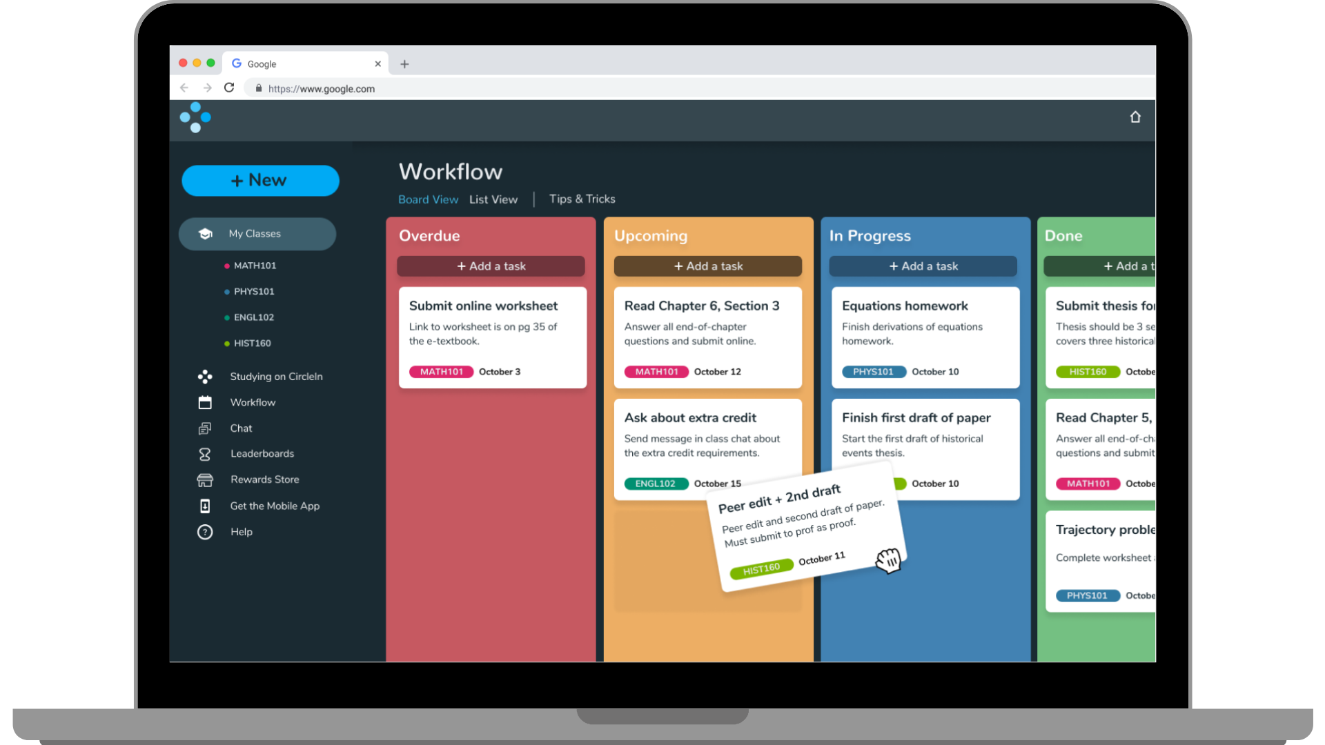 Workflow on Web